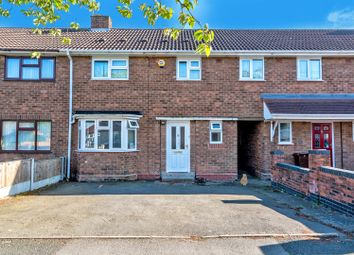Thumbnail 4 bedroom terraced house for sale in Moathouse Lane East, Wednesfield, Wolverhampton