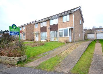 Thumbnail 3 bed semi-detached house for sale in Stone Hill Court, The Arbours, Northampton