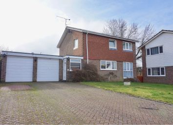 Thumbnail 4 bed detached house for sale in Iris Close, Basingstoke