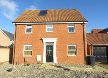 Thumbnail 4 bed detached house for sale in Buttermere Way, Carlton Colville, Lowestoft