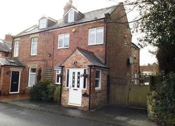 Thumbnail 3 bed semi-detached house for sale in Side Lane, Hepscott, Morpeth