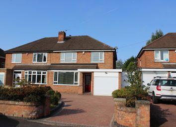Thumbnail 3 bed semi-detached house for sale in Lutley Lane, Hayley Green, Halesowen