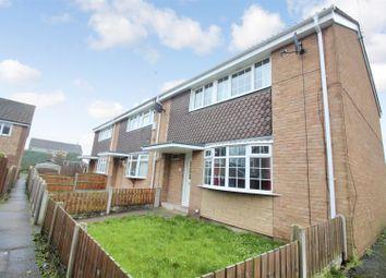 Thumbnail 3 bed town house for sale in Beechwood Glade, Sherburn In Elmet, Leeds