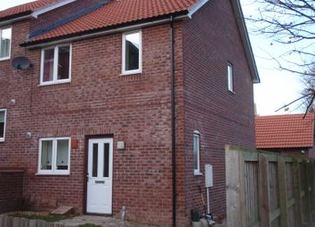 Thumbnail 3 bed end terrace house to rent in Spencer Way, Scarborough