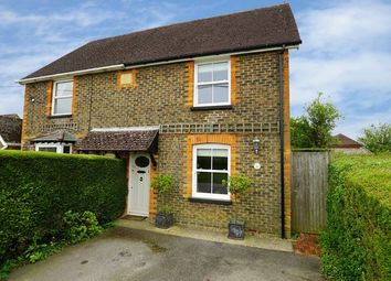 Thumbnail 3 bed semi-detached house for sale in Emms Lane, Barns Green, Horsham