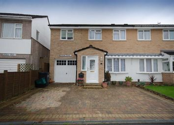 Thumbnail 4 bed semi-detached house for sale in Benford Close, Downend, Bristol