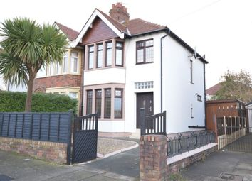 Thumbnail 3 bed semi-detached house for sale in Calder Road, Blackpool