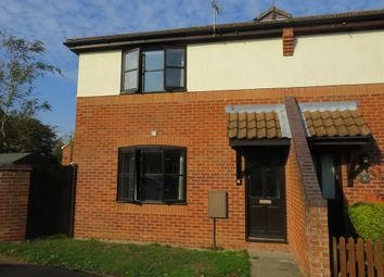 Thumbnail 1 bed terraced house for sale in Chequers Close, Briston, Melton Constable