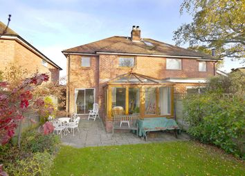 Thumbnail 3 bed semi-detached house for sale in Gold Mead Close, Lymington, Hampshire