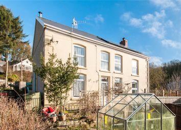 Thumbnail 3 bed semi-detached house for sale in Heol Tredeg, Upper Cwmtwrch, Swansea