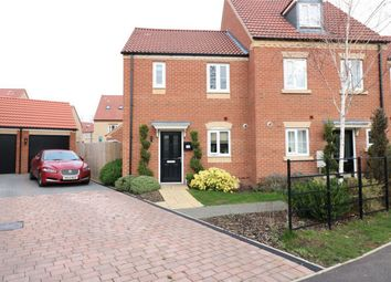 Thumbnail 2 bed end terrace house for sale in Newmarket Avenue, Bourne, Lincolnshire