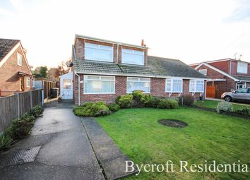 Thumbnail 3 bed semi-detached house for sale in Heather Avenue, Scratby, Great Yarmouth