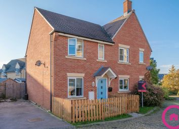 Thumbnail 3 bed semi-detached house for sale in West Way, Bishops Cleeve, Cheltenham
