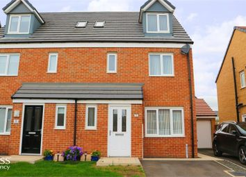 Thumbnail 4 bed semi-detached house for sale in Sunningdale Road, Ashington, Northumberland