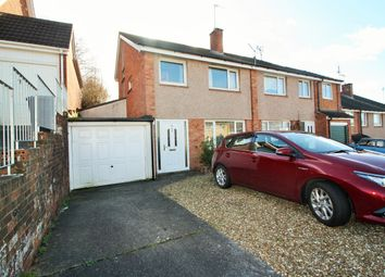 Thumbnail 3 bed semi-detached house for sale in Plumtree Drive, Exeter