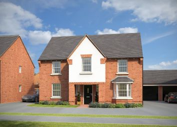 "Thumbnail 4 bedroom detached house for sale in ""Winstone"" at Stockton Road, Long Itchington, Southam"