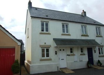 Thumbnail 2 bed semi-detached house for sale in Camelford, Cornwall
