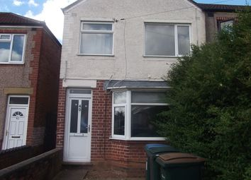 Thumbnail 3 bedroom end terrace house to rent in Lauderdale Avenue, Coventry