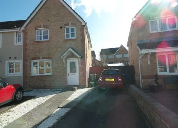 Thumbnail 3 bed end terrace house for sale in St. Peters Avenue, Llanharan, Pontyclun