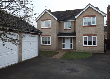 Thumbnail 4 bed detached house to rent in Partridge Drive, Thetford