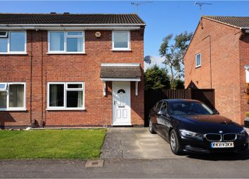 Thumbnail 3 bed semi-detached house for sale in Hunters Way, Leicester Forest East