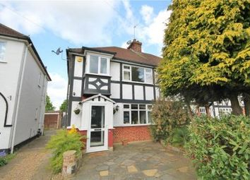 Thumbnail 3 bedroom semi-detached house for sale in Pams Way, Ewell, Epsom