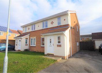 Thumbnail 3 bed semi-detached house for sale in Icknield Close, Bracebridge Heath