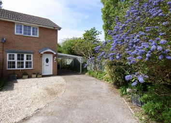 Thumbnail 2 bed semi-detached house for sale in Hanover Close, Worle, Weston-Super-Mare