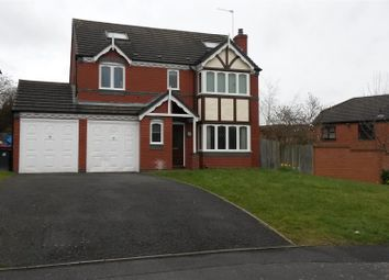Thumbnail 5 bed detached house for sale in Kingfisher Way, Leegomery, Telford
