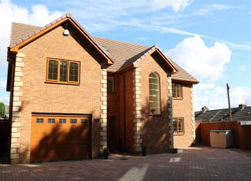 Thumbnail 6 bed detached house for sale in Sir Ivor Lane, Pontllanfraith, Blackwood