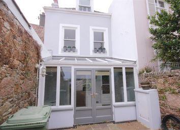 Thumbnail 2 bed terraced house for sale in Le Boulevard, St Aubin, St Brelade
