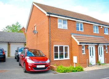 Thumbnail 3 bed semi-detached house for sale in Belfry Drive, Rochester