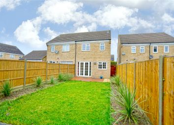 Thumbnail 3 bedroom semi-detached house for sale in William Drive, Eynesbury, St. Neots, Cambridgeshire