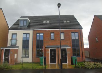 Thumbnail 3 bedroom town house for sale in Roseden Way, Newcastle Upon Tyne