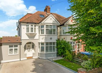 Thumbnail 5 bed semi-detached house for sale in Colborne Way, Worcester Park, Surrey