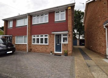 Thumbnail 3 bed semi-detached house for sale in Northlands Close, Stanford-Le-Hope, Essex
