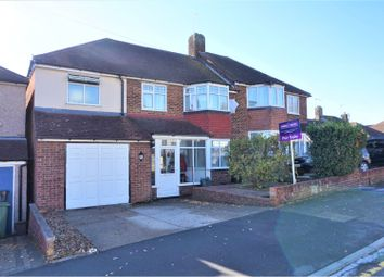 Thumbnail 4 bed semi-detached house for sale in Longmead Drive, Sidcup