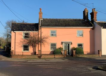 Thumbnail 4 bed link-detached house for sale in Station Road, Earsham, Bungay