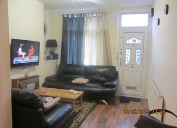 Thumbnail 3 bed terraced house to rent in Dundonald Road, Leicester