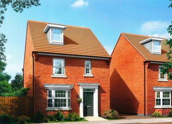 Thumbnail 4 bed detached house for sale in The Bayswater, Station Road, Warboys