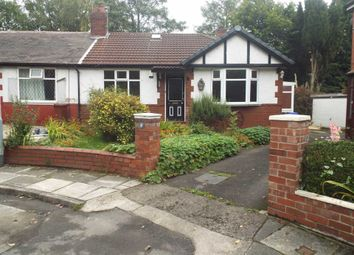 Thumbnail 2 bed bungalow to rent in Kenslow Avenue, Crumpsall, Manchester
