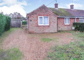 Thumbnail 3 bedroom semi-detached bungalow for sale in Doddshill Road, Dersingham, King's Lynn