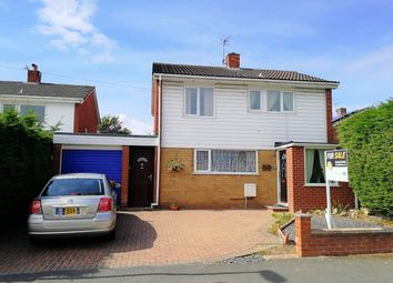 Thumbnail 3 bed detached house for sale in Willow Crescent, Connah's Quay, Deeside