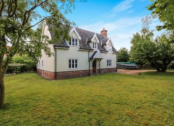Thumbnail 3 bed detached house for sale in Great Hockham, Thetford, Norfolk