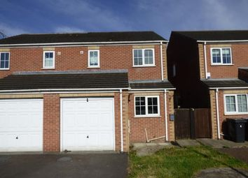 Thumbnail 3 bed semi-detached house for sale in Bek Close, New Houghton, Mansfield, Derbyshire