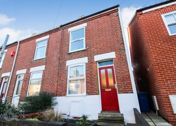 Thumbnail 2 bed end terrace house for sale in Branford Road, Norwich