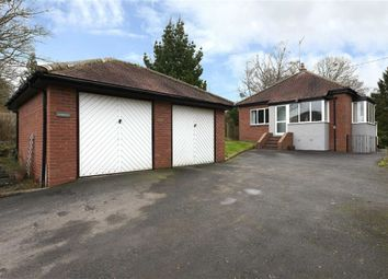 Thumbnail 2 bed detached bungalow for sale in Castle Hill Lane, Wolverley, Kidderminster, Worcestershire