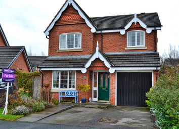 Thumbnail 4 bed detached house for sale in Newland Way, Nantwich