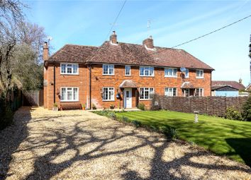 Thumbnail 4 bed semi-detached house for sale in South Warnborough, Hook