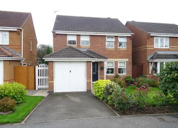 Thumbnail 3 bed detached house for sale in The Oval, Coalville, Leicestershire